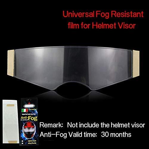 Mialian Folien Antifog für Helm Folien Aufkleber Schutz- Wasserdicht für Sonnenblende Motorrad Linse