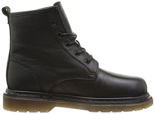 Bunker Crush, Boots garçon Noir (So Carbon)