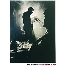 Póster Miles Davis. Birdland