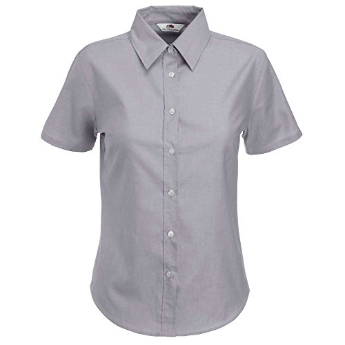 Fruit of the Loom Camicia Donna Gris - Gris