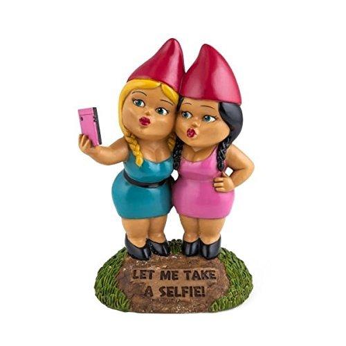 Nano da giardino – selfie sister
