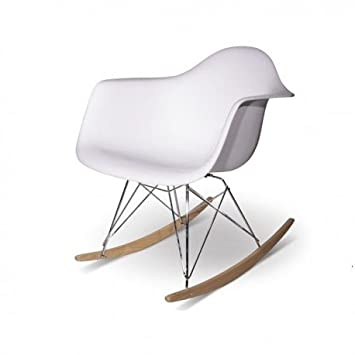 chaise rar à bascule-charles eames-bakélite mat: amazon.fr ... - Chaise A Bascule Charles Eames