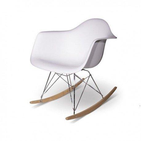 Chaise RAR à bascule-Charles Eames-bakélite mat