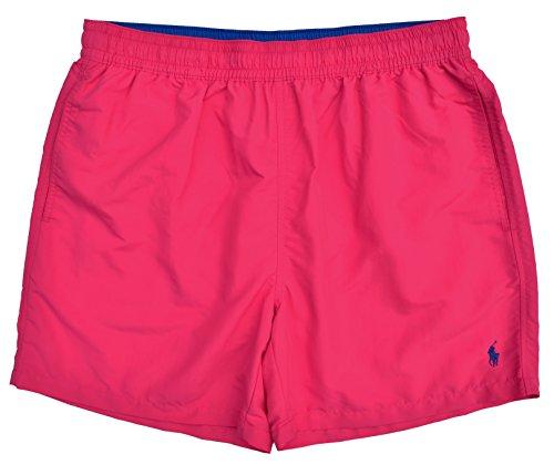 Ralph Lauren Badeshort Swim Short Hawaiian Boxer Pink (XXL) (Lauren Boxer-shorts Ralph)