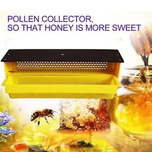 MG Universal Plastic Pollen Collector Removable Ventilated Tray Hive Beekeeping Tools AW -