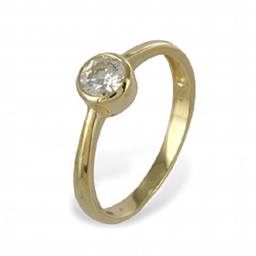 Sonstige Loyal Damen Ring 333 Gold Gelbgold 15 Zirkonia Goldring Cheapest Price From Our Site