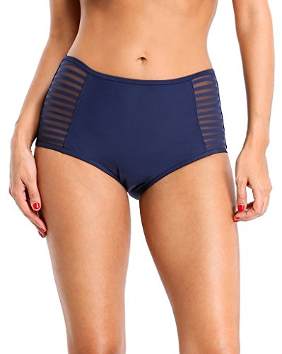 Alove - Pezzo sotto bikini -  donna Navy-Mesh