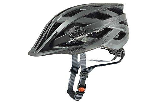 UVEX Erwachsene Fahrradhelm I-VO CC, schwarz (Schwarz (Black Mat)), 52-57 cm