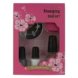 Konad Stamping Nail Art Set T