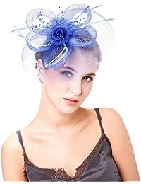 Hulday Cappellini Ladies Feltro da Cappello Donna Campana Cappello di  Feltro Stile Semplice Cappello A Cloche fa4822a1afdd