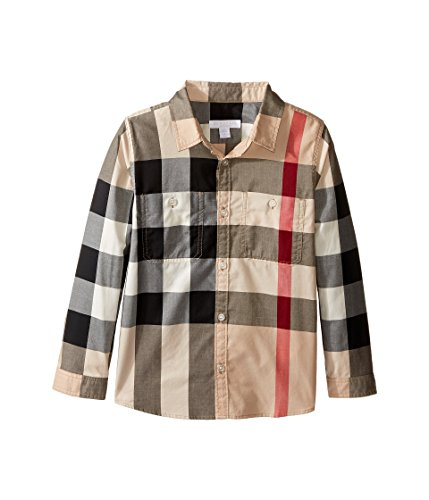 BURBERRY Jungen Hemd Check Classico 8 Jahre