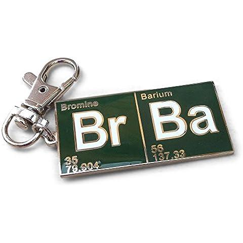 Breaking Bad. tavola periodica verde portachiavi / Clip.