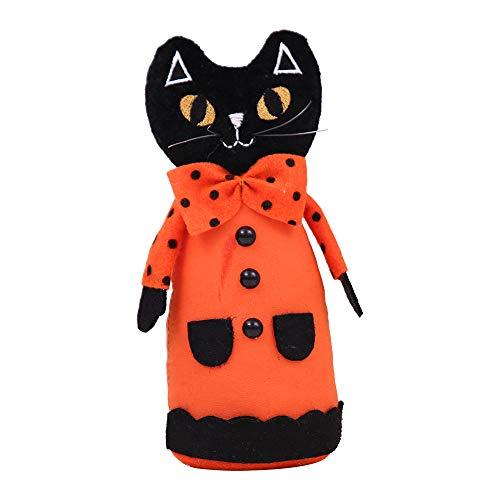 Halloween Horror Requisiten Hexe Kürbis Katze Plüsch Puppen Dekoration Heim Ornament Plüsch Gefüllte Puppe Spielzeug Party Favors