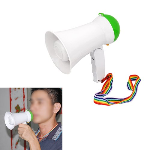 Dcolor Nuovo potente megafono Hailer forte altoparlante Horn Siren & controllo del volume
