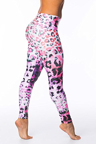FITNESSCHIC - Animals Skin 00227 Collants - Femmes MULTICOLOR