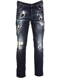 Versace Jeans vaqueros jeans denim de hombre pantalones nuevo slim pocket tiger