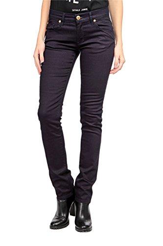Love Moschino Jeans tretti , donna, Colore: Blu Scuro, Taglia: 27