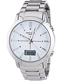 Mike Ellis New York Herren-Armbanduhr XL Analog - Digital Quarz Edelstahl SL4-60220A