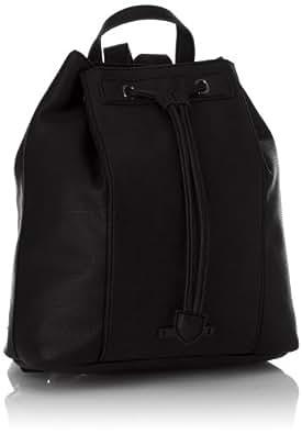 Esprit Casey Backpack, Sac porté dos - Noir (001 Black), Taille Unique