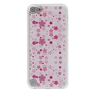 YF-Besondere rosa Blätter-Muster Epoxy harter Fall für ipod touch 5