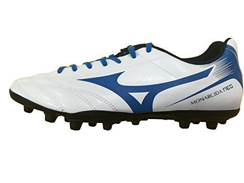 Mizuno Monarcida Neo Ag, Scarpe per Allenamento Calcio Uomo Bianco