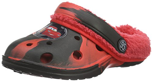 CarsBoys Kids Clog Sandals and Mules - Zoccoli Bambino , Nero (Schwarz (Blk/Hre 507)), 26