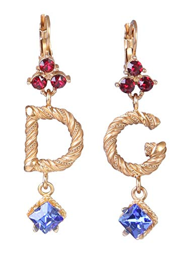 DOLCE E GABBANA Damen Wel6b4w1111zoo00 Gold Metall Ohrringe
