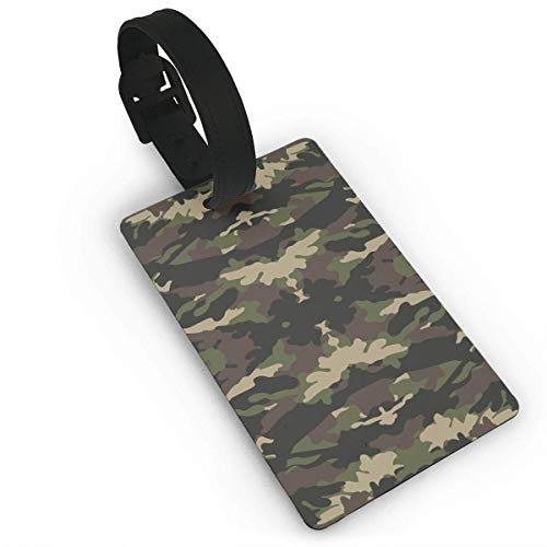 nger for Travel Camouflage Luggage Tag Travel Identifier Labels Set for Bags Baggage ()