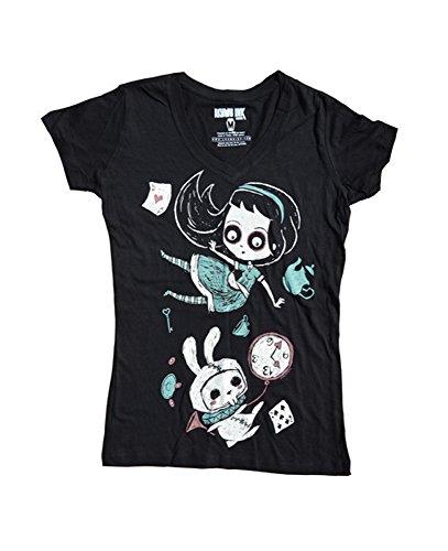 Akumu Ink - Damen T-Shirt - Lost in the Fall (S)