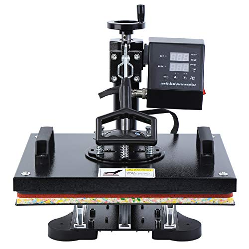 MuGuang Professionelle Digital Swing Hitze Presse Maschine Sublimation Druckmaschine für Textil 39.5x31.5cm Heat Press 220V