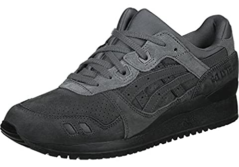 Asics - Gel Lyte III Platinum- Sneakers Herren Dark Grey - US 10.5 - EUR 44.5 - CM 28.2