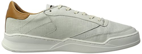 Replay Whames, Baskets Homme Weiß (Off White Tan)