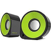 Speedlink Ellipz Stereo Speaker schwarz/grün