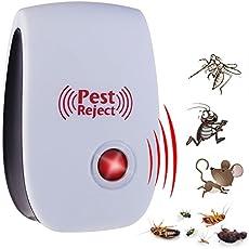 Lepakshi EU Plug Electronic Ultrasonic Anti Mosquito Insect Pest Mouse Repellent