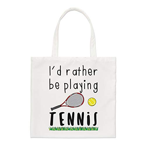 je le ferais Rather Be de jeu tennis Petit Sac fourre-tout