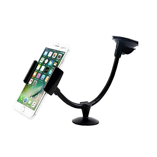 Handyhalterung Auto,Autohalterung Handy 360°drehbare,Universal Windschutzscheibe Smartphone,5 Zoll Universal Pull Cli,Telefonhalterung mit starker Saugnapf für iPhone 7/7 Plus/6/6S Plus/6S Usw.