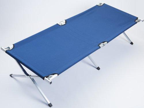 41a3jkbbqML - Skandika Camping Bed XXL Comfortable Camping Lounger 210 x 80cm
