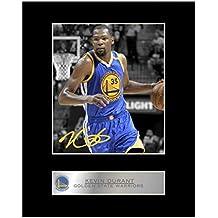 Kevin Durant firmada foto enmarcada Golden State Warriors 6b06e08a443