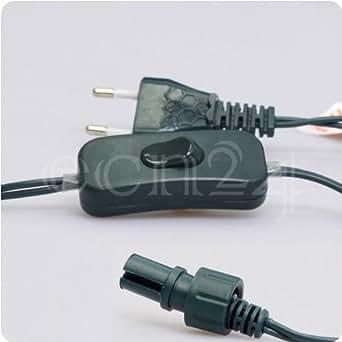 Câble de raccordement LED HQS avec interrupteur