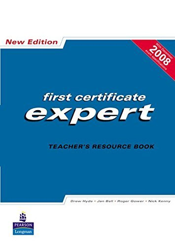 FCE Expert: Teacher's Resource Book by Drew Hyde (2008-02-14)