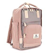 Dieser klassische Rucksack im Skandi-Stil ist perfekt für den täglichen Gebrauch und auch für professionelle Verwendung. Das Hauptfach ist überraschend groß - man bekommt alles hinein, was man unterwegs braucht.  Dank der Platzierung des Reißverschlu...