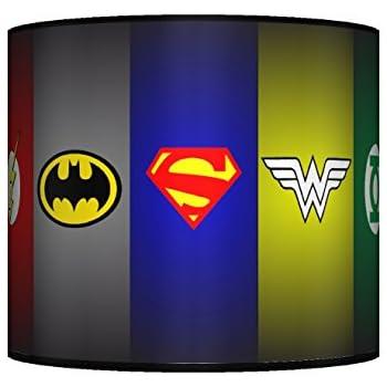 New Super Hero Batman Superman Symbol Ceiling Lampshade
