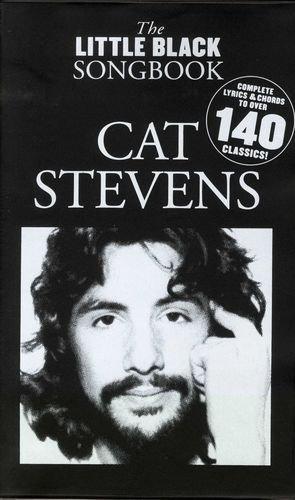 The little black Songbook: CAT STEVENS (Yusuf Islam) inkl. Original Dunlop Plektrum -- über 140 Songs des Sängers in einem Band mit den kompletten Texten und Gitarrenakkorden im praktischen Taschenformat (Noten / sheet music)