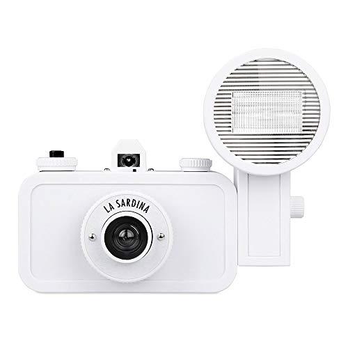 Lomogrpahy SP200DIYB La Sardina Camera and Flash DIY Edition - weiß