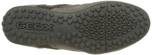 Geox Herren Uomo Snake B Low-Top Grau (GREYC1006)