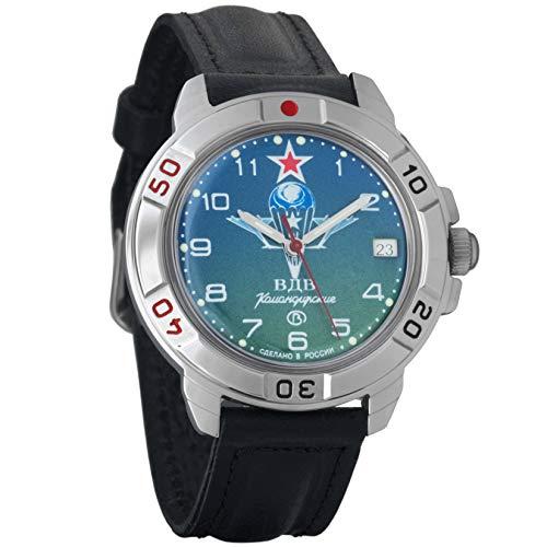 Vostok KOMANDIRSKIE 2414431818VDV Militar Ruso Reloj mecánico