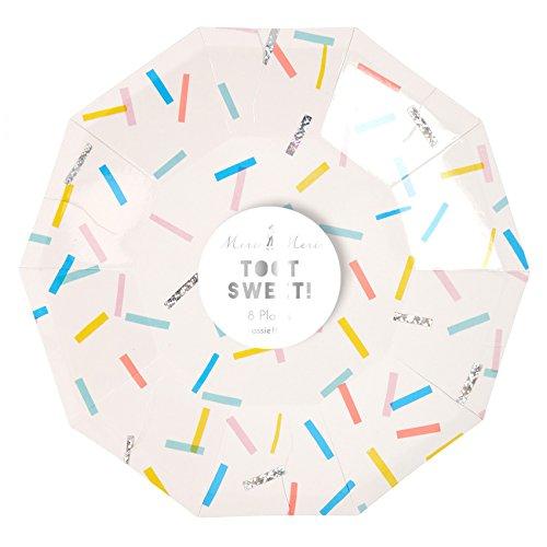 Assiettes en carton Toot Sweet (petites) - Meri Meri