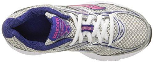 Saucony Femme Cohesion 8Chaussure de course à pied Silver/Navy/Pink
