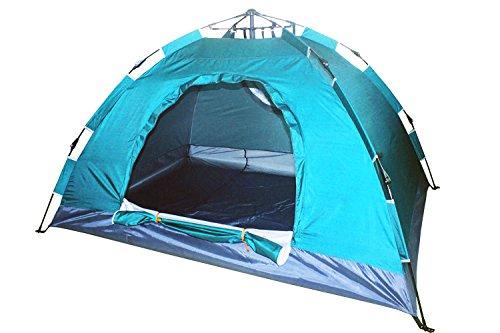 Tenda da campeggio 3persone Igloo 4stagioni Pop Up automatica idraulica sgancio rapido...