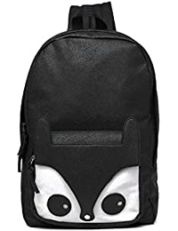 Soft PU Leather Backpack Cartoon Animal Prented Backpack Women Casual School Bags For Girls Sac Femme